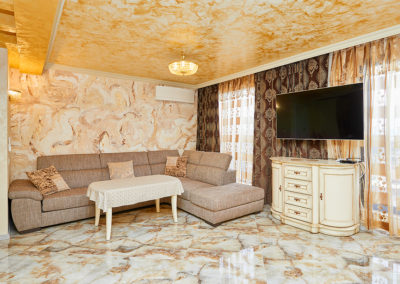 Decorative plaster – Gold and marble – Sonata, Pomorie