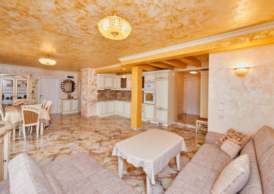 3 Decorative plaster – Gold and marble – Sonata, Pomorie