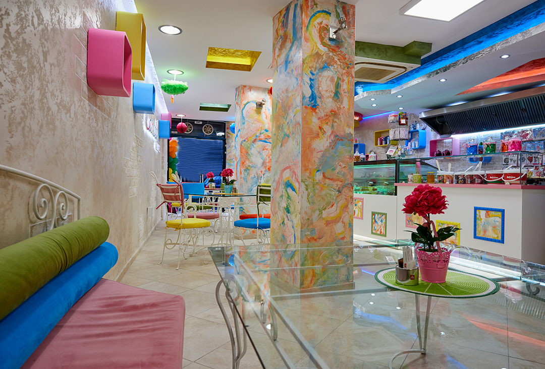 Design And Completion – Gelateria Carnevale – Pomorie