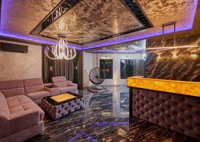 Цялостен дизайн и изпълнение на апартамент в Слънчев бряг