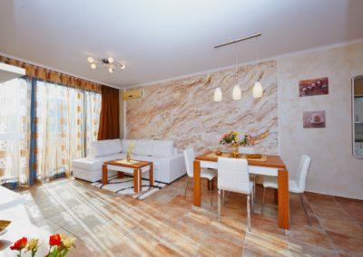 Coziness with wood decor