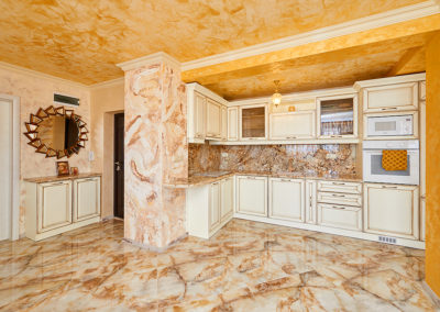 9 Decorative plaster – Gold and marble – Sonata, Pomorie