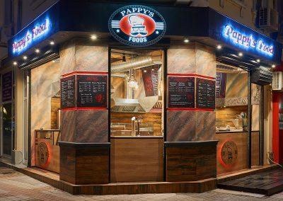 Заведение за бързо хранене Papy's Foods